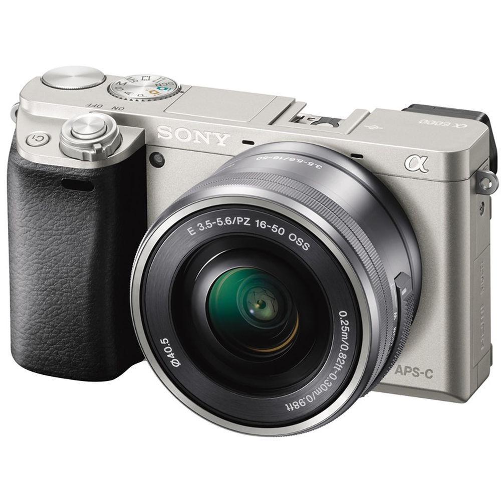 Máy ảnh Sony Alpha Alpha A6000L + lens kit 16-50mm + Tặng Thẻ nhớ SD 16GB + Túi
