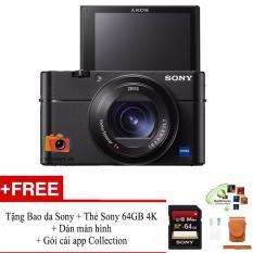Chi tiết sản phẩm Máy ảnh Sony Rx100 mark V + Tặng Bao da + Thẻ Sony 64Gb 4K + Dán màn hình + Gói cài AppCol