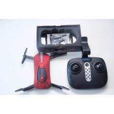 Đồ chơi máy bay điều khiển từ xa drone kèm camera wifi 2.4G máy bay 4 cánh quạt J8 đen -AL