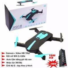 Máy bay camera Selfie trên cao Flycam JY018 + Tặng thêm 01 pin dự phòng
