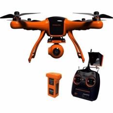 Máy bay quay phim Wingsland Scarlet Minivet (Orange) – Controller, chống rung ba trục, monitor