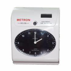 Máy Chấm Công Thẻ Giấy Metron Md-20b(Trắng)
