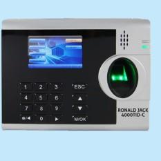 Máy chấm công vân tay và thẻ cảm ứng Ronald Jack 4000TID