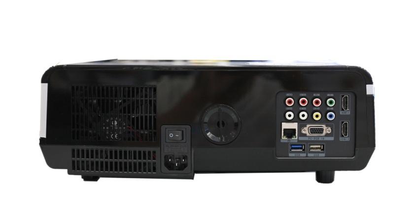 Hình ảnh Máy chiếu BullPro BP600A Wifi (Đen)