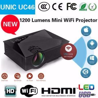 Máy chiếu mini Cao Cấp UNIC UC46 Wifi