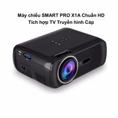 Nơi Bán Máy chiếu SMART PRO X1A Chuẩn HD Tích hợp TV Truyền hình Cáp