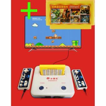 Máy chơi game 4 nút D30 Kèm 1 băng game 500 trò không lập lại