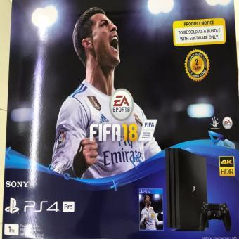Máy Chơi Game Sony Playstation 4 PS4 Pro 1TB FIFA 18 Bundle Bảo Hành 2 Năm