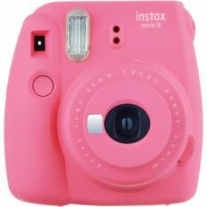 Máy chụp ảnh lấy liền Fujifilm instax mini 9 – Màu hồng – Tặng kèm 20 tấm giấy in FujiFilm