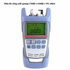 Máy đo công suất quang kiêm bút soi quang VFL 10km