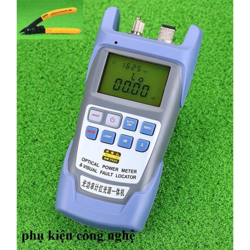 Bảng giá Máy đo công suất Quang tích hợp Bút soi Quang 10Km DXP-50D + Kìm tuốt quang 3 lỗ CFS-3 Phong Vũ