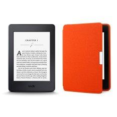 Máy Đọc Sách All-New Kindle PaperWhite 2017 và Bao da Cam