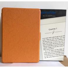 Máy Đọc Sách All-New Kindle PaperWhite (2018) và Bao da cam