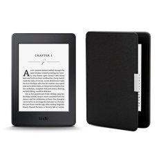 Bảng Giá Máy Đọc Sách Kindle PaperWhite 2017 và Bao da (Đen Inox)  Tại MayDocSach