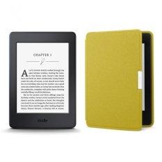 Máy đọc sách Kindle Paperwhite 2017 và Bao da (Vàng)