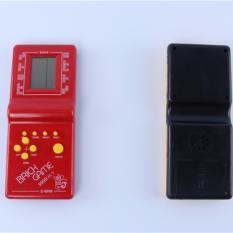Đồ chơi trẻ em máy chơi game cầm tay tetris E9999 máy chơi game bỏ túi đồ chơi điện tử màu đỏ -AL