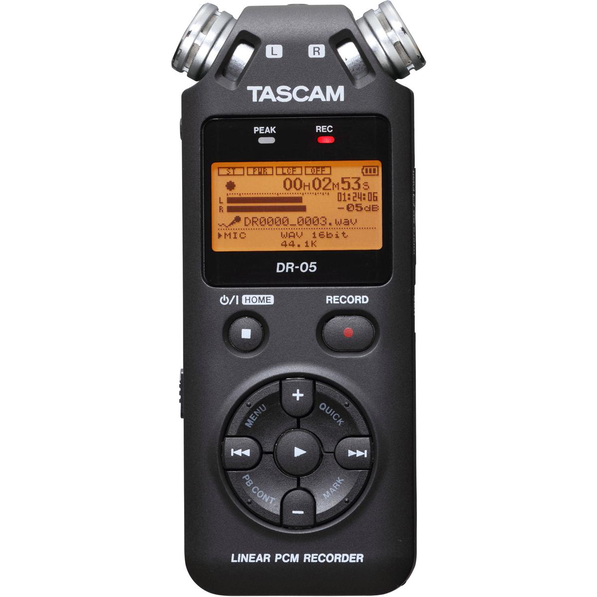 Tư vấn mua Máy ghi âm Tascam DR-05
