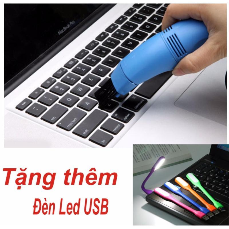 Bảng giá Máy Hút Bụi Mini Siêu Tốc Cho Bàn Phím Máy Tính, Laptop  + Đèn led USB Phong Vũ