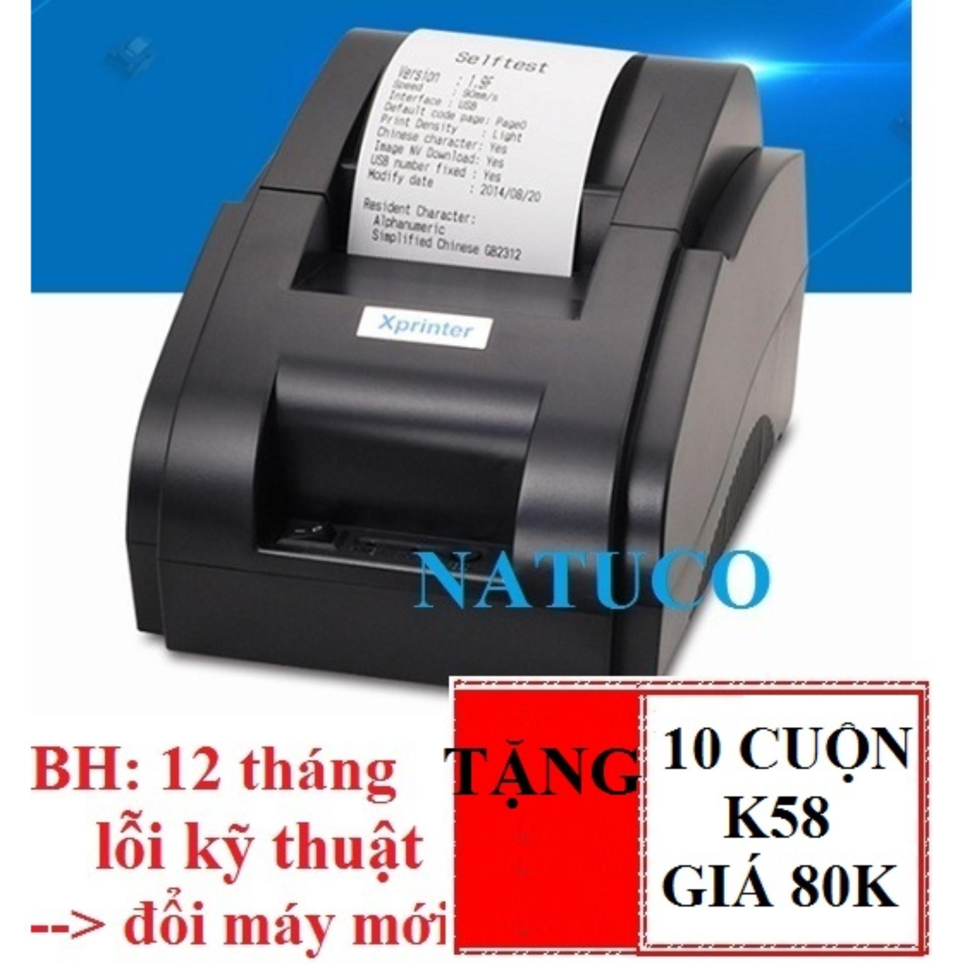 Xprinter Xpf58iihusb Xp Q200ii 80mm Thermal Printer Pos Kasir Auto Cutter Cash Receipt 58iih Usb