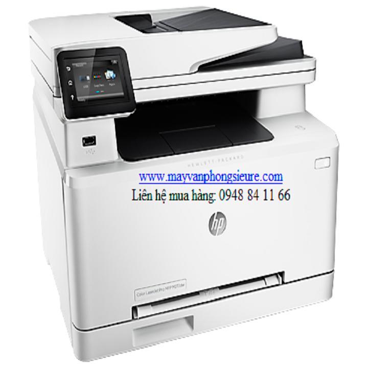 Máy in laser màu đa chức năng HP Laserjet MFP M277dw