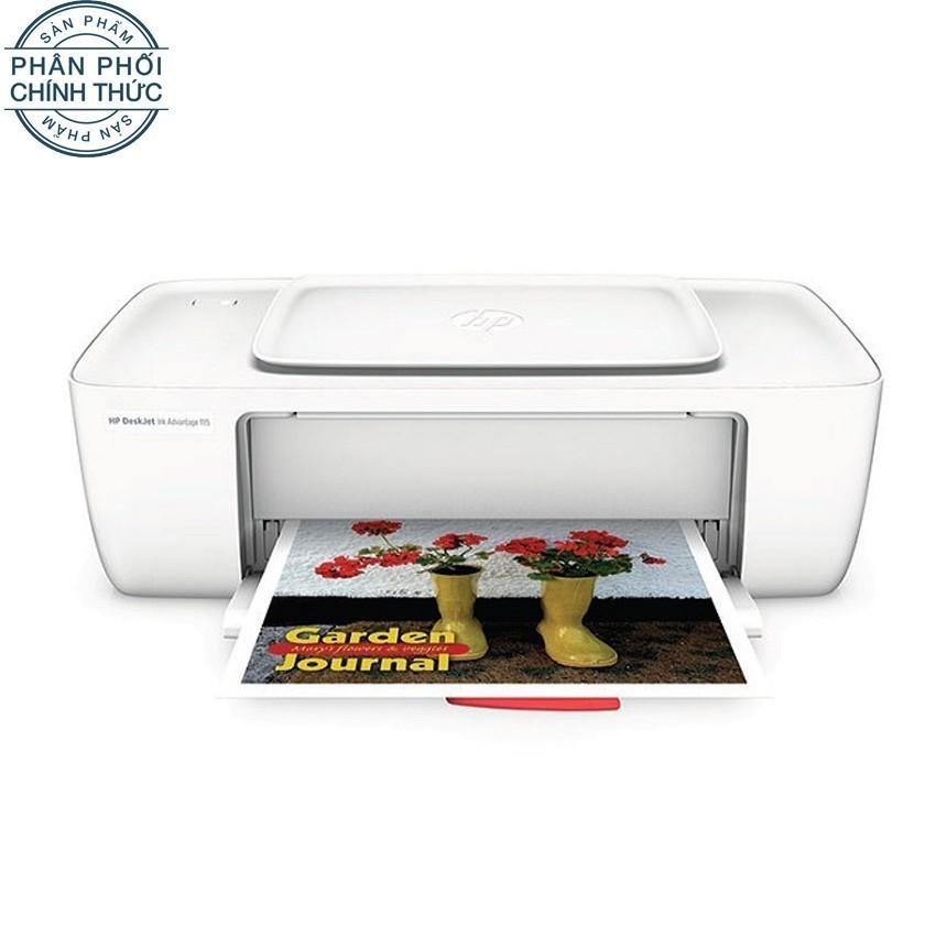 So sánh giá Máy in phun HP Deskjet Ink Advantage 1115 (Trắng) – Hãng phân phối chính thức Tại Lazada Electronics Official Store