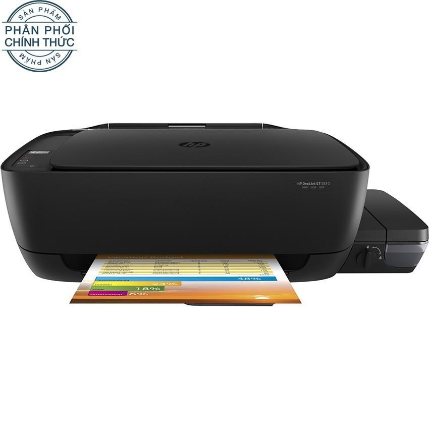Nên mua Máy in phun màu đa năng HP Deskjet GT5810 (Đen) – Hãng phân phối chính thức ở Lazada Electronics Official Store
