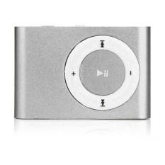 Máy nghe nhạc MP3 mini vỏ nhôm (Bạc)