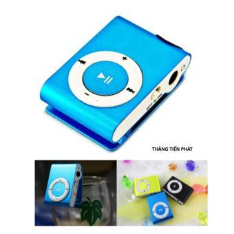 Máy nghe nhạc MP3 vỏ nhôm phong cách ( xanh dương)