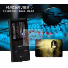 Máy Nghe Nhạc Mp4 vỏ nhôm nghe được FM radio,xem phim(màu tùy ý)+ cáp sạc+ tai nghe nhét tai(có loa ngoài)
