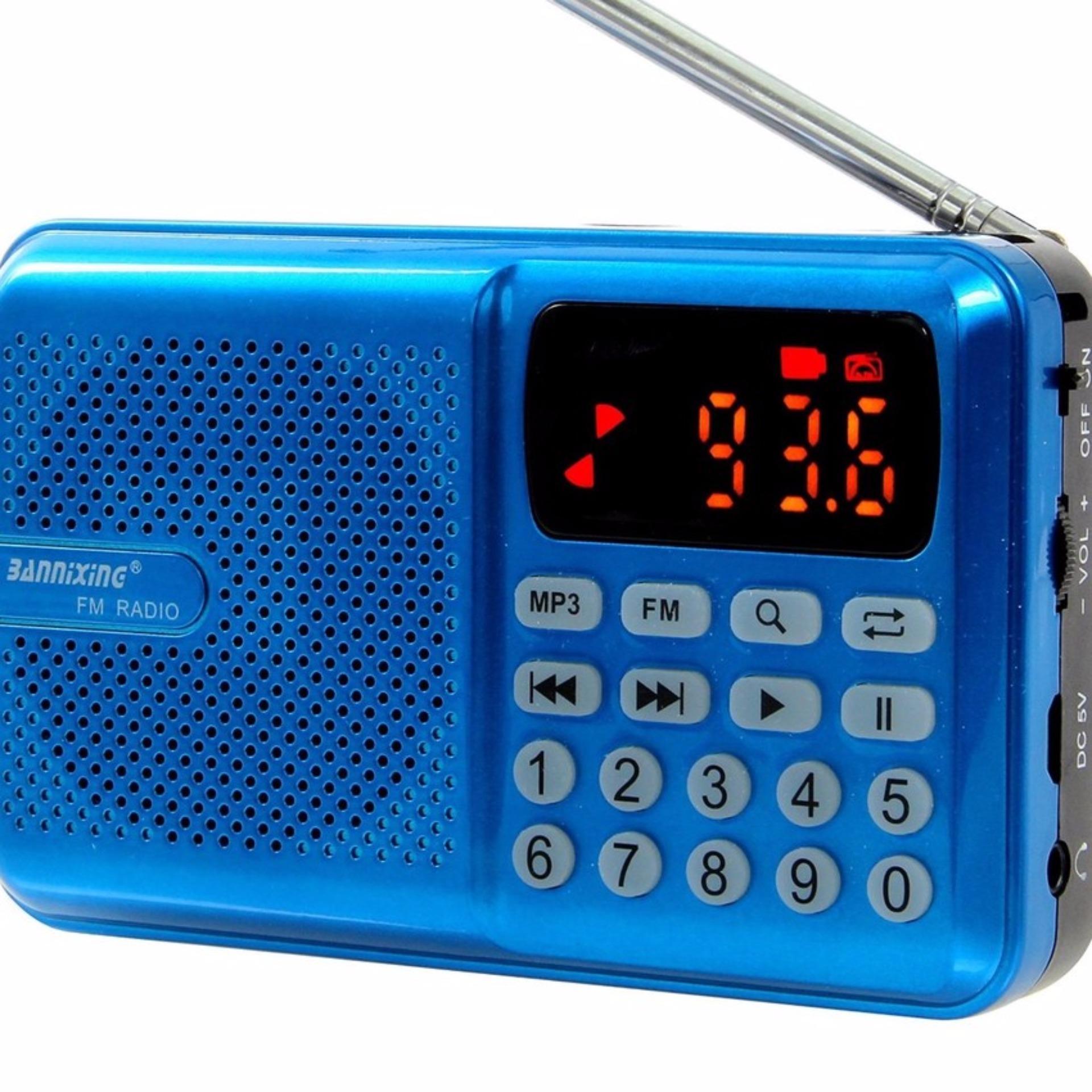 Máy nghe nhạc, Niệm Phật đa năng USB, thẻ nhớ, đài FM Bannixing D-69E