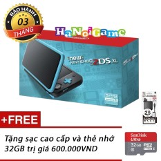 Máy Nintendo New 2DS XL Black Blue kèm thẻ nhớ 32GB HaNoiGame