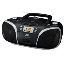 Máy phát CD/MP3-USB-Cassette JSL RC-EZ57B (Đen)