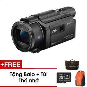 Máy quay phim Sony 4K AXP55 tích hợp máy chiếu (Đen) - Tặng thẻ nhớ - Túi - Balo du lịch Sony - Hàng phân phối chính hãng