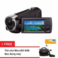 Nơi mua Máy quay phim Sony HDR-CX405 (Đen) – Tặng thẻ nhớ 8GB + túi đựng máy