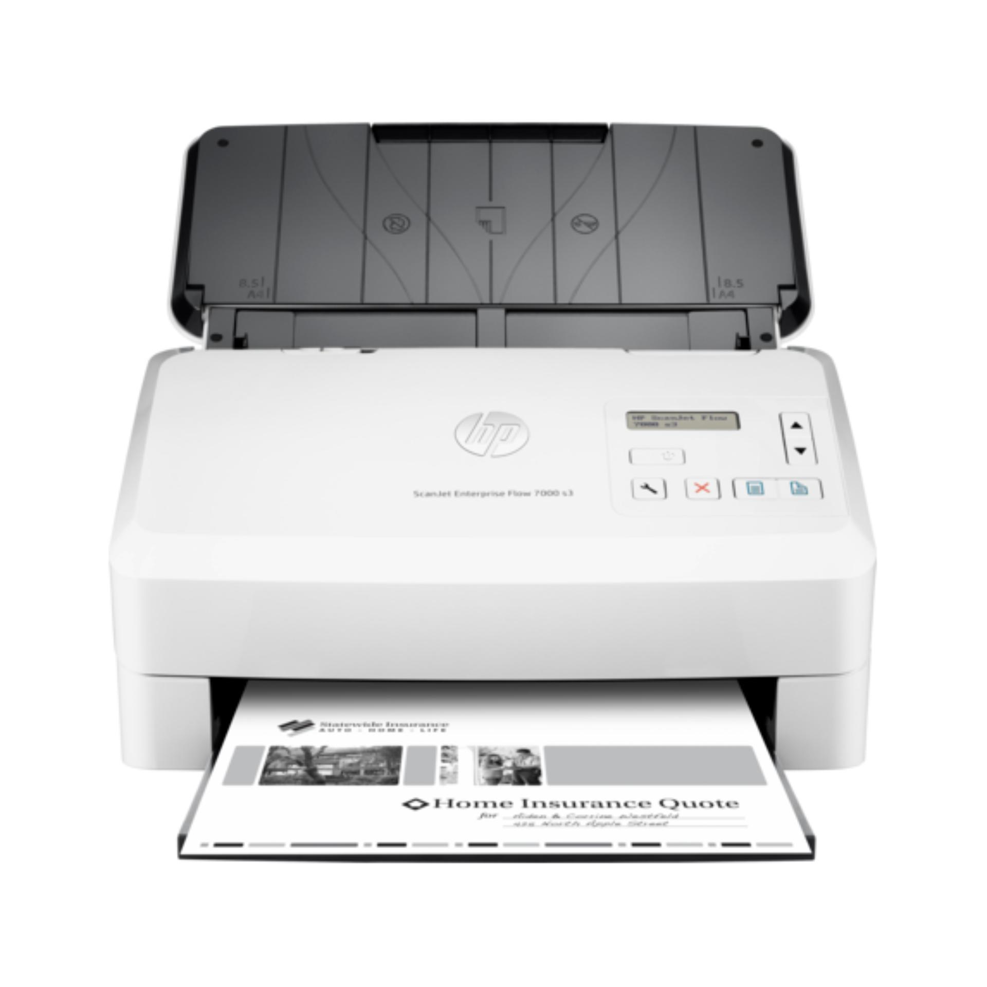 Máy quét HP Enterprise Flow 7000 S3 ( Trắng )