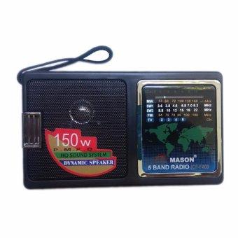 Máy Radio chuyên dụng 5 băng tần Mason F400