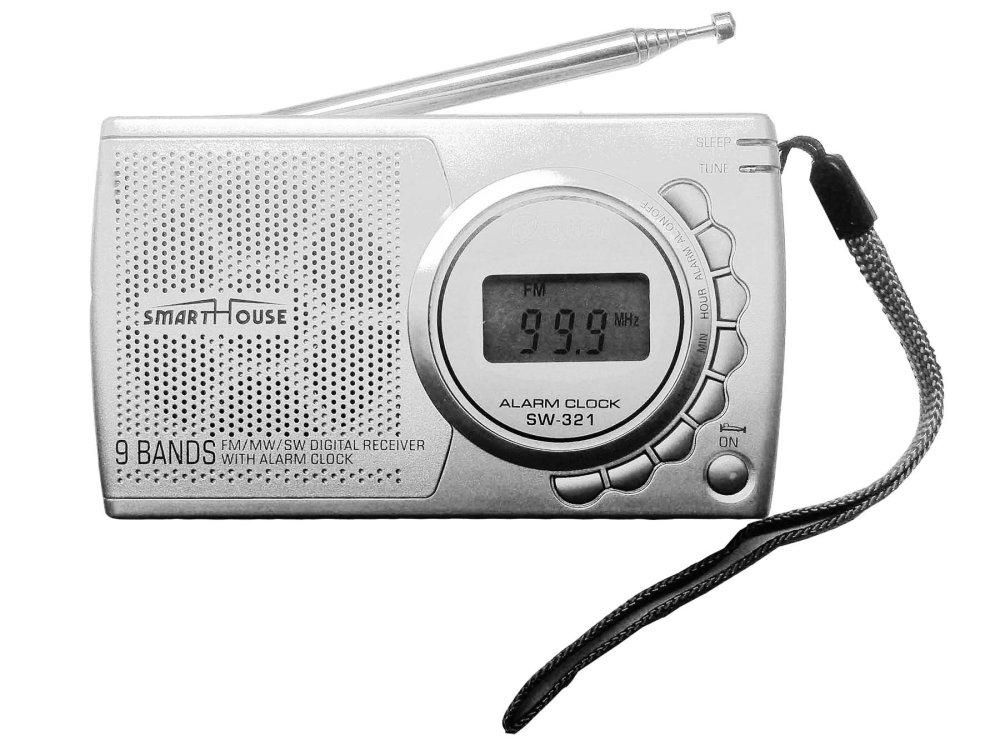 Chi tiết sản phẩm Máy Radio chuyên dụng 9 băng tần SmartHouse SW-321 (bạc)
