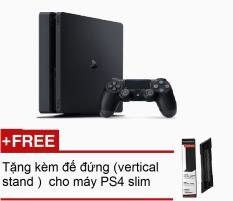 Máy Sony PlayStation PS4 Slim 500Gb CUH2006A (Đen) + Tặng kèm đế đứng (vertical stand ) cho máy PS4 slim