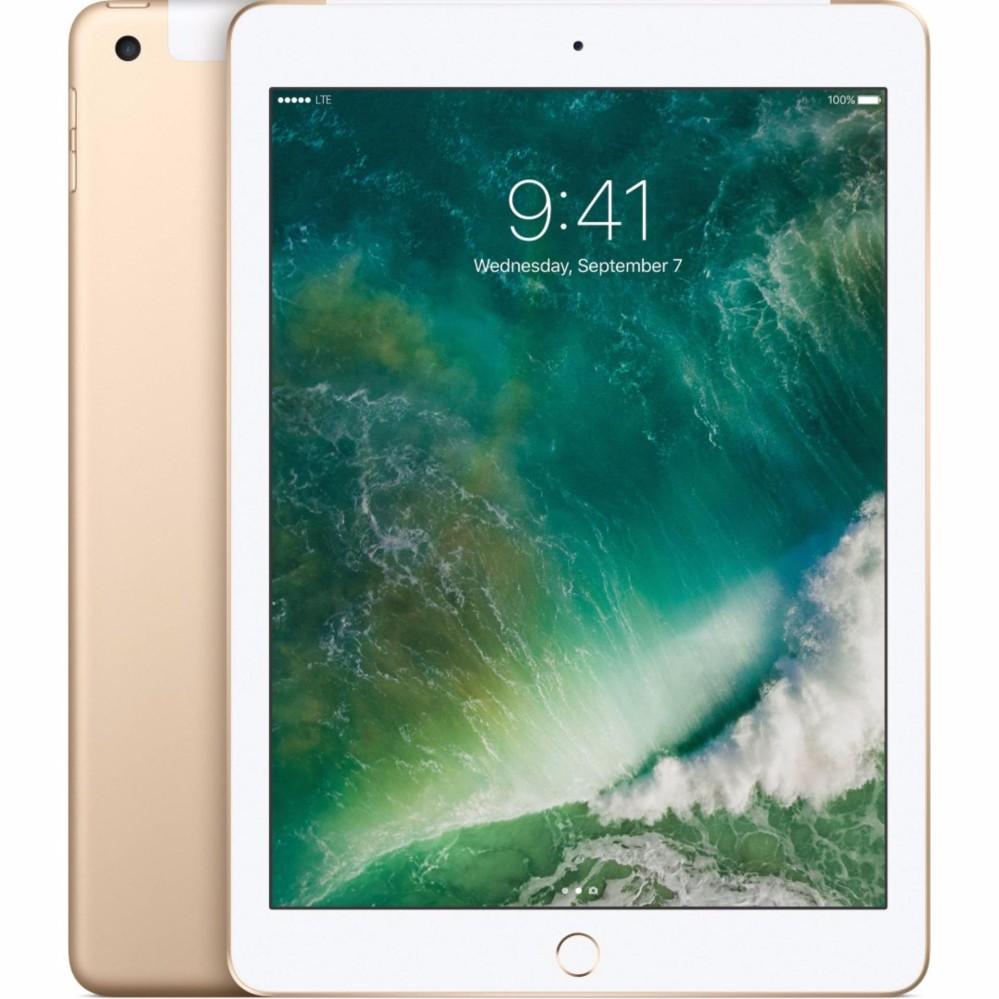 Máy tính bảng Apple iPad Gen5 4G/LTE (iPad Gen 5 9.7) – 2017 vàng 128gb – Hàng nhập khẩu