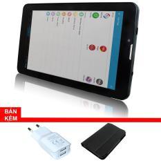 Máy tính bảng cutePad M7022 wifi/3G, 7″, 8GB (Đen)+Bao da đen+ Cục sạc cutePad TX-P113 New Trắng- Hãng phân phối chính thức
