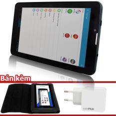 Máy tính bảng cutePad M7022 wifi/3G Đen+ Kèm bao da đen+ cục sạc cutePad TX-P113 Trắng