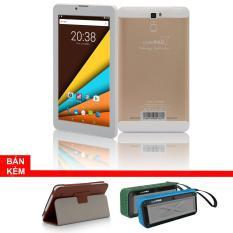 Máy tính bảng cutePAD M7089 1GB/8GB wifi/3G vàng gold+Bao da nâu+ Loa di động bluetooth cutePad Rockman ngẫu nhiên- Hãng phân phối chính thức