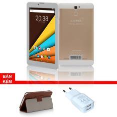 Máy tính bảng cutePAD M7089 1GB/8GB wifi/3G (Vàng gold)Tặng bao da nâu+ Cục sạc cutePad TX-P113 new-Hãng phân phối chính thức
