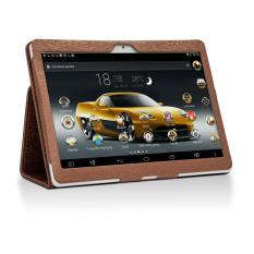 Giá Khuyến Mại Máy tính bảng cutePAD M9601-phiên bản 2018 wifi/3G 9.6″ Vàng gold+ Bao da nâu – Hãng phân phối chính thức