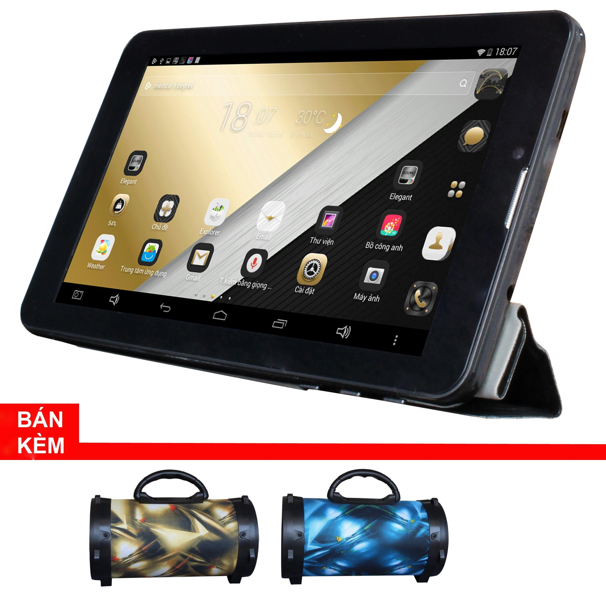 Máy tính bảng cutePad Tab 4 M7047 wifi/3G(Đen) + Loa di động bluetooth cutePAD BS383 ngẫu nhiên-Hãng Phân phối chính...