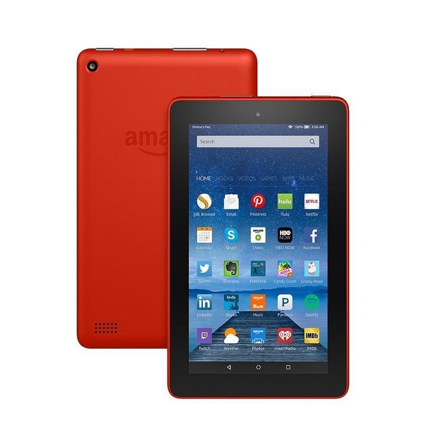 Máy tính bảng Fire 8GB Wifi (Đỏ) - Hàng nhập khẩu