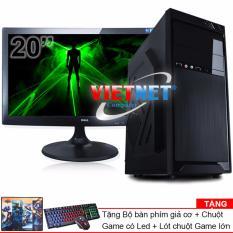 Máy tính bộ core i7 2600 RAM 8GB 500GB Dell 20in VietNet