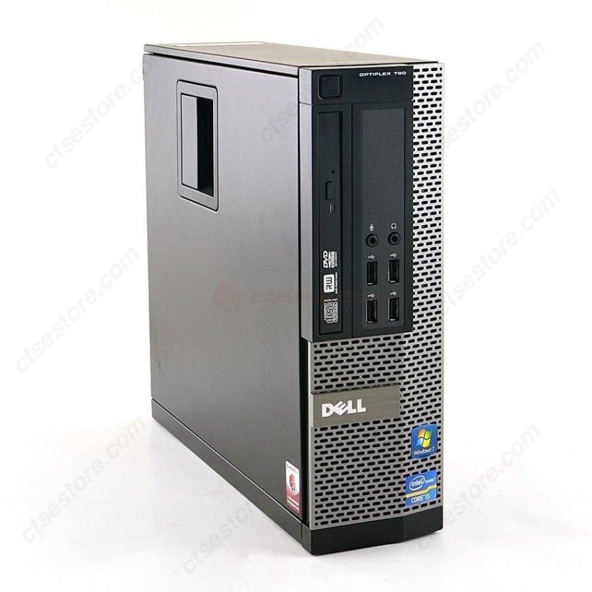 Hình ảnh Máy tính để bàn Dell Optiplex 990 Core I3 2120, 4GB RAM, SSD 128GB + Tặng bộ chuột + Bàn phím + USB Wifi - Hàng nhập khẩu