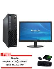 Máy tính để bàn Lenovo ThinkCentre M91P Core i5 2400, RAM 4GB, HDD 500GB (Tặng 1 bộ Bàn phím, chuột, bàn di) – Hàng nhập khẩu.