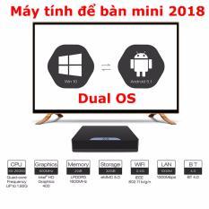 Giá Máy tính để bàn Window 10 và Android 5.1 CPU Intel – Mini PC X5  Hàng thật giá thật